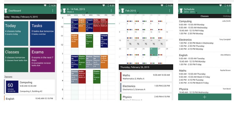 My Study Life lets you store notes, homework, classes in the cloud -  Android Community