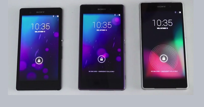 Sony Xperia Z Android 5.0 Lollipop smartphones
