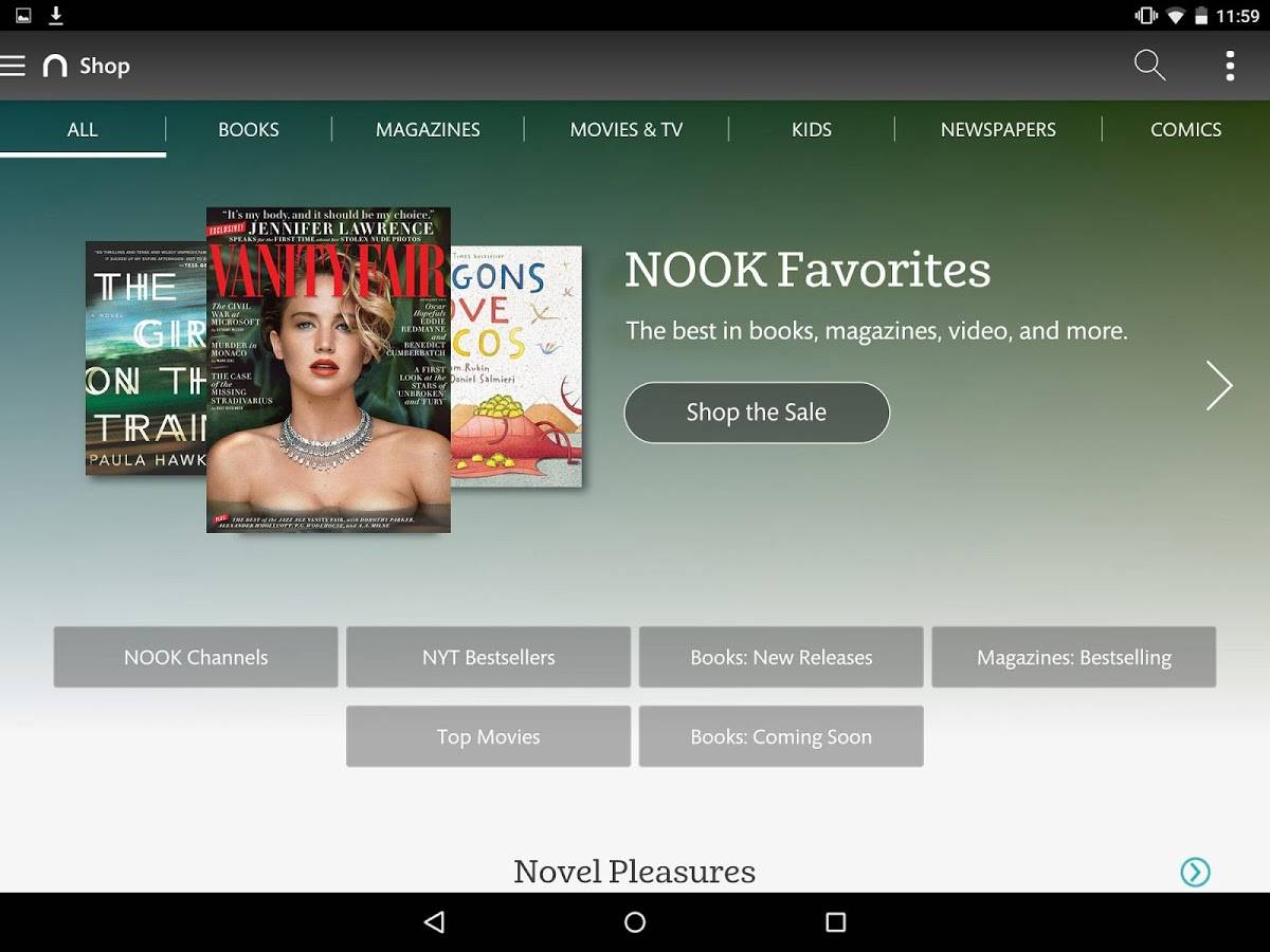 Nook Reading App 4 0 now on Android devices - Android Community