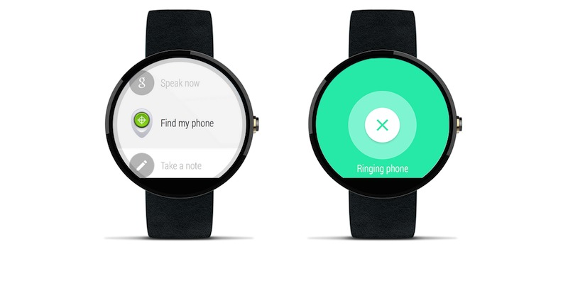 Google Android Wear on iPhone iOS