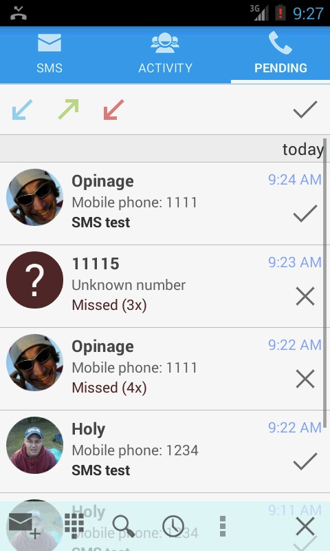 SMS Notify Android app