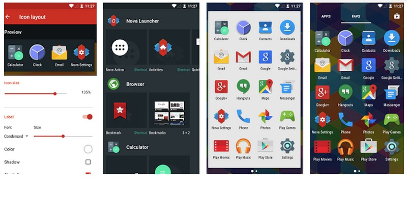Nova Launcher Prime Material Design Android Lollipop