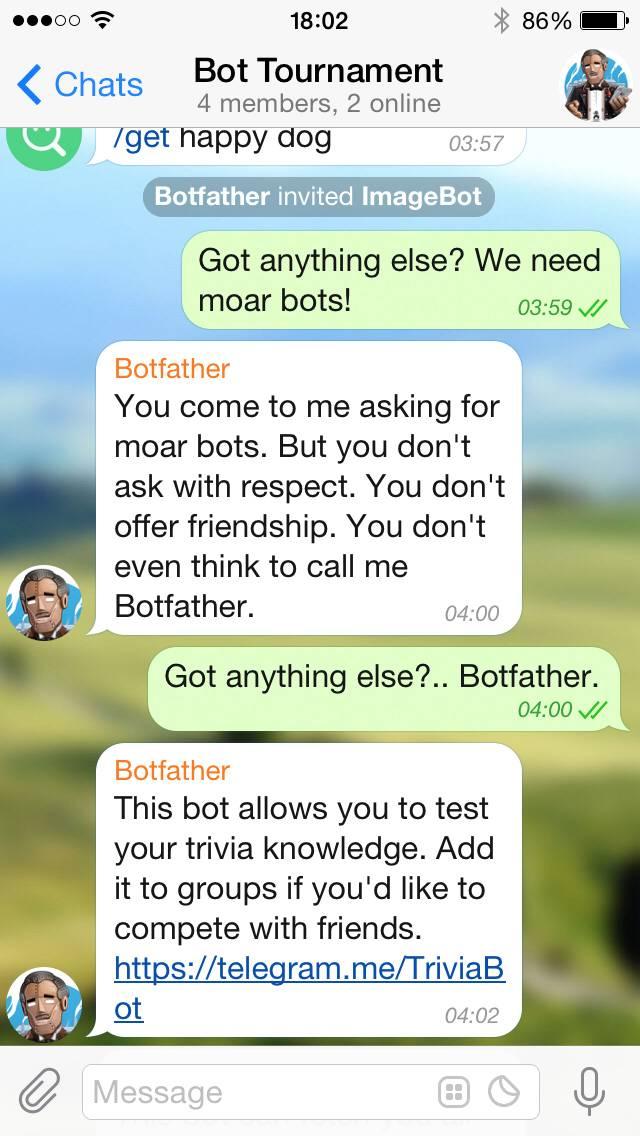Telegram 3 0 now offers Bot API, platform for developers - Android