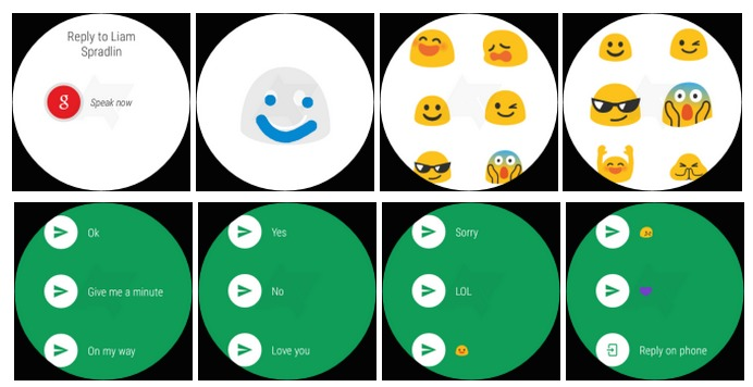 Hangouts 4.0 On Android Wear d