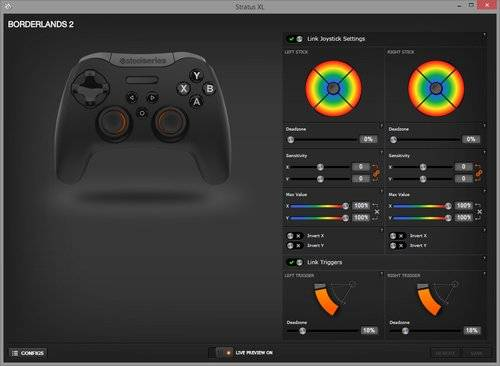 STEELSERIES STRATUS XL WIRELESS GAMING CONTROLLER 2