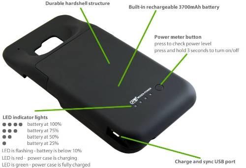 HTC One M9 Extended Battery Case (PRNewsFoto/Mugen Power Batteries)