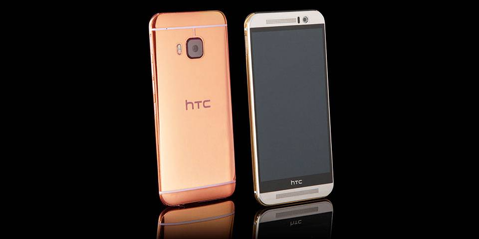 HTC One M9 gets the Goldgenie treatment - Android Community