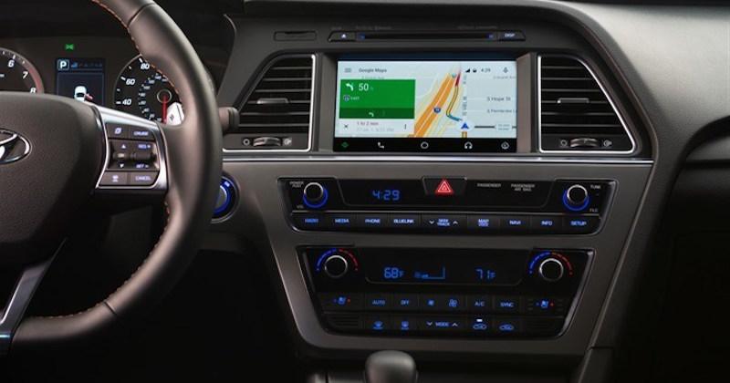 Android Auto 2015 Hyundai Sonata