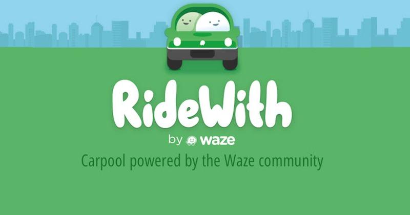Waze RideWith carpool
