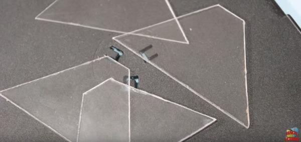 3D hologram projector 5