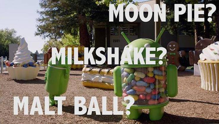 Android M Moon Pie Milkshake Malt Ball