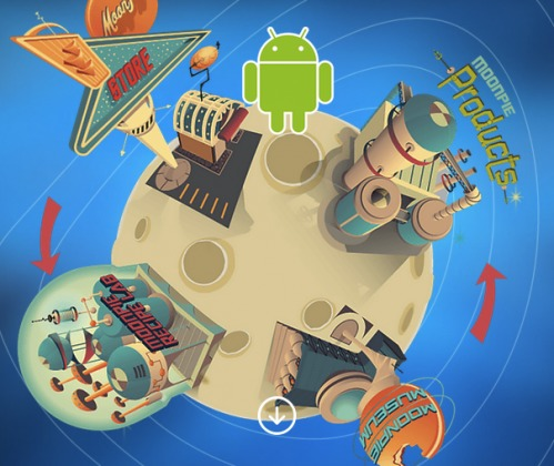 Android Moon Pie