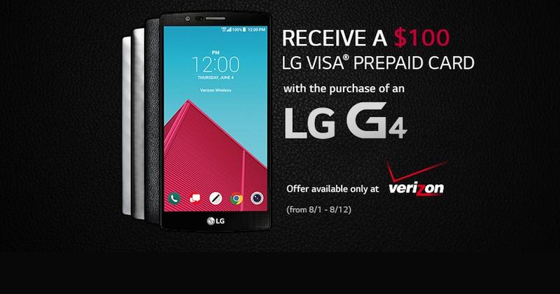LG G4 August 2015 Promo