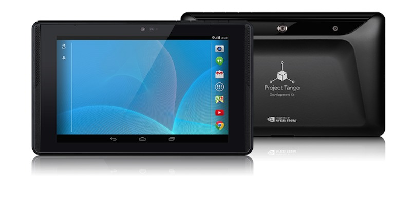 Project Tango Tablet Development Kits