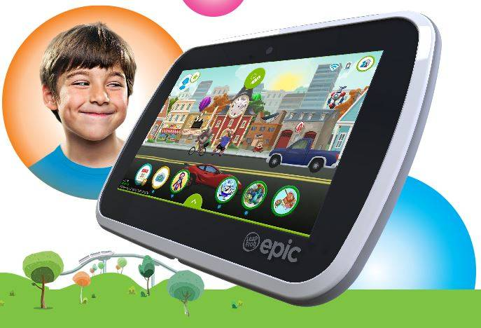 LeapFrog Epic: a customizable, age-appropriate tablet for