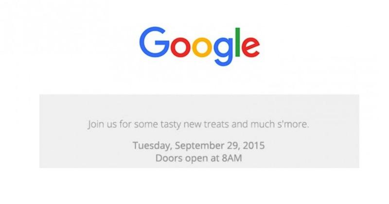 Google LG Huawei Nexus September 29