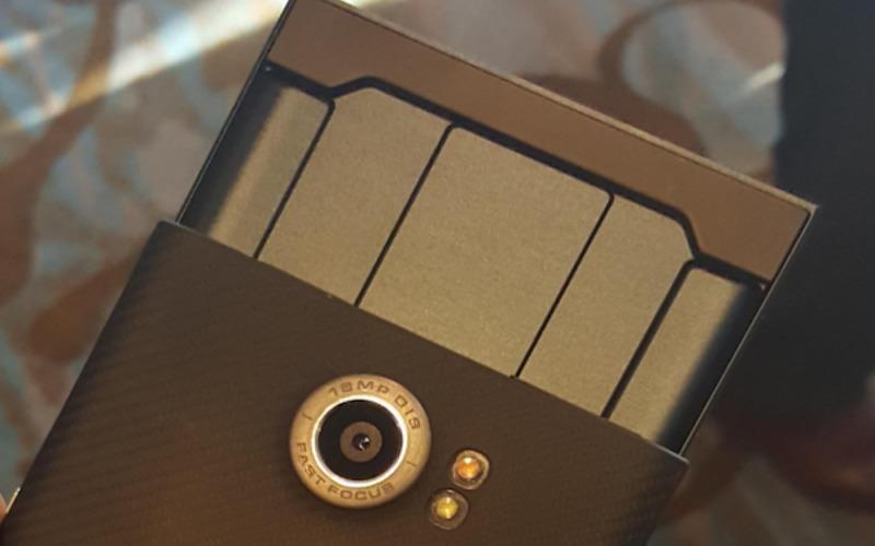 BlackBerry Priv sony camera sensor