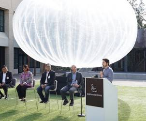 Google Project Loon Balloon Internet India