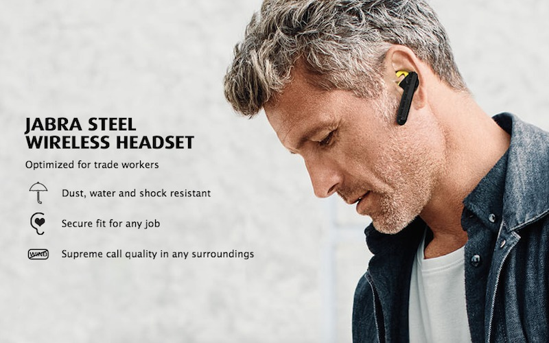 Jabra Steel Wireless Headset