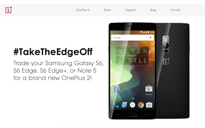 OnePlus take the edge off