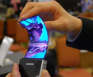Samsung foldable display phone