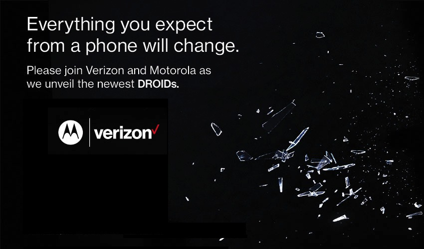 Verizon Motorola DROID October 27 2015