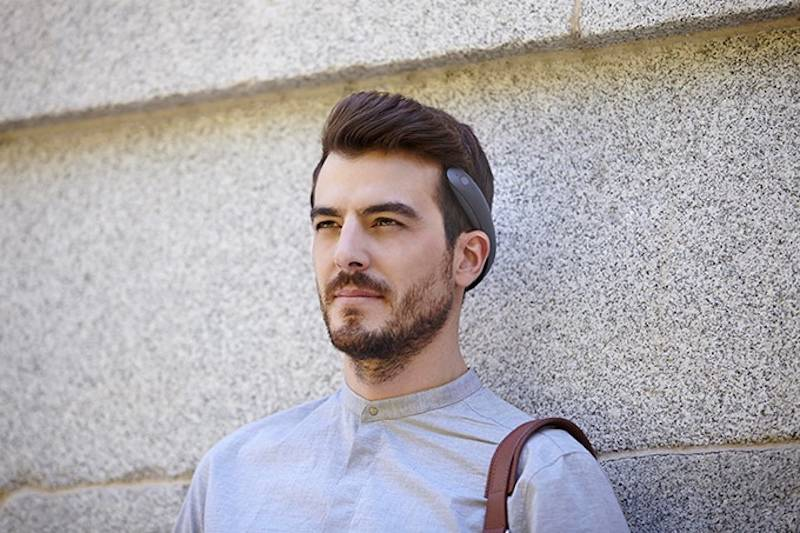 BATBAND: Sleek, ear-free headphones won't hurt your ears, now on Kickstarter