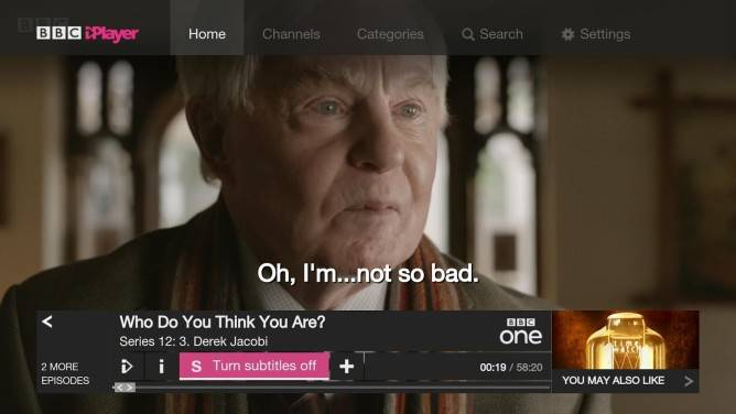 NVIDIA releases BBC iPlayer app for Shield TV users