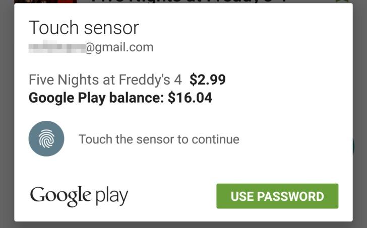 touch sensor password