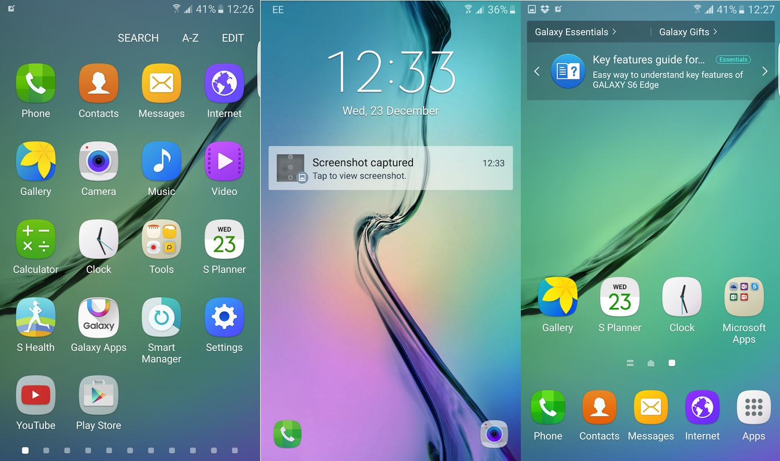 Galaxy S6 S6 edge Android 6.0 Marshmallow