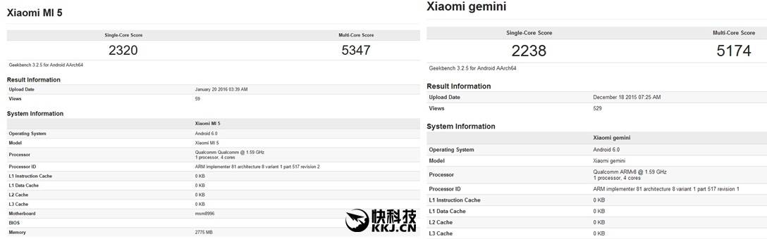 Xiaomi Mi 5 DATABASE 1