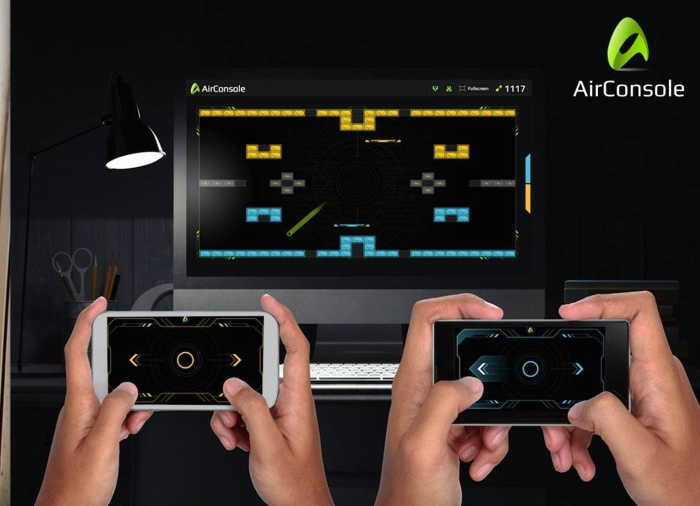 Use phone as gamepad and party on with AirConsole for