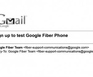 Google Fiber Phone test service