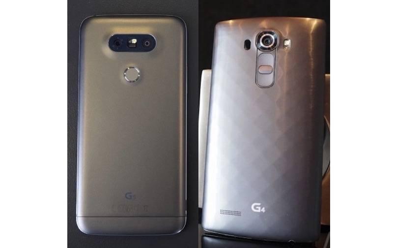 LG G5 VS LG G4 a