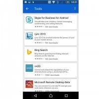 Microsoft Apps for Android 6