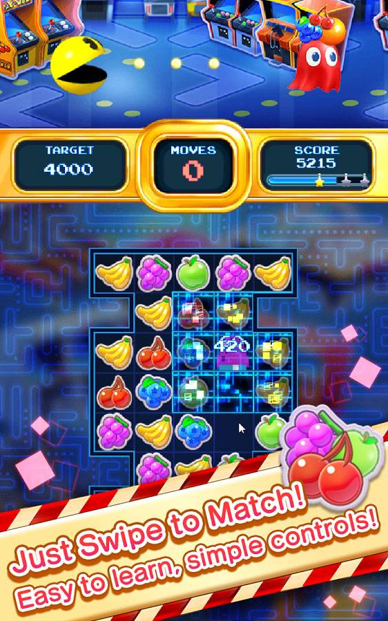 Pac-Man-Puzzle-Tour-Android-Game-1