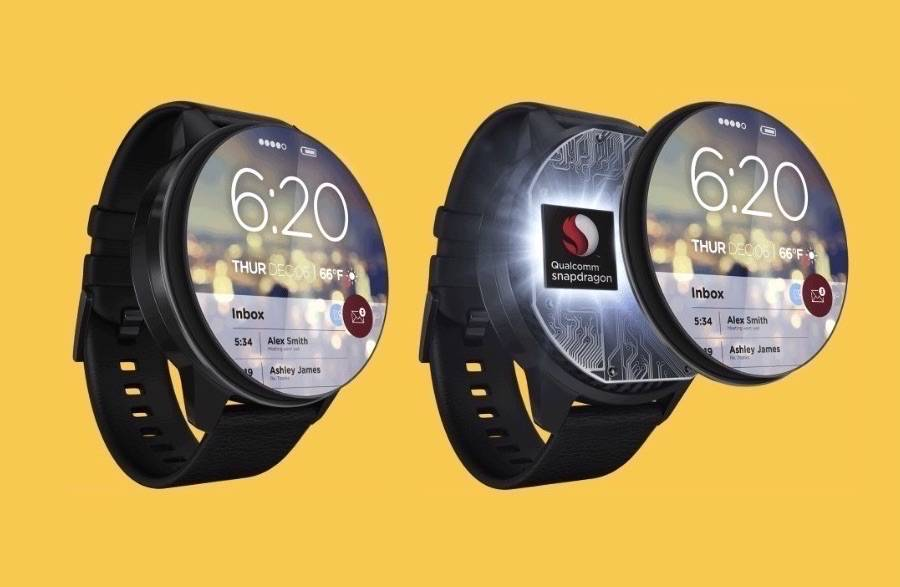 Qualcomm Snapdragon Wear 2100 a