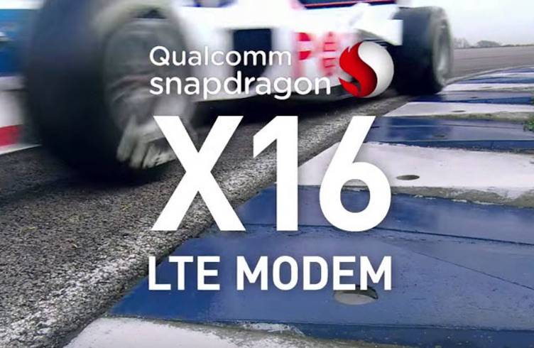 Qualcomm Snapdragon X16 LTE Gigabit