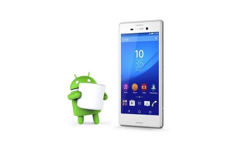 Sony Xperia M4 Aqua Android 6.0 Marshmallow