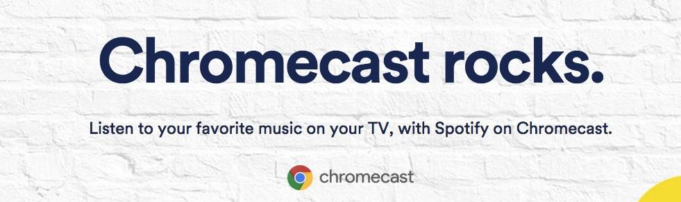 Spotify on Chromecast