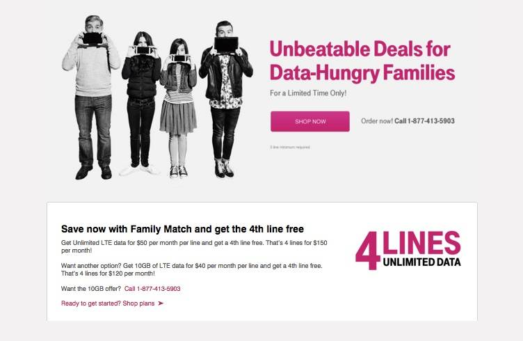 T-Mobile Family Match