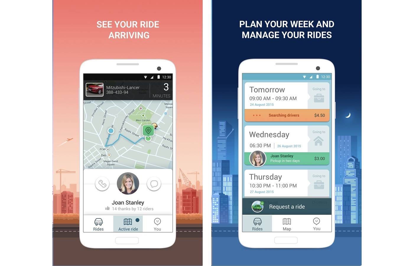 RideWith rebranded as 'Waze Rider', still on limited test run
