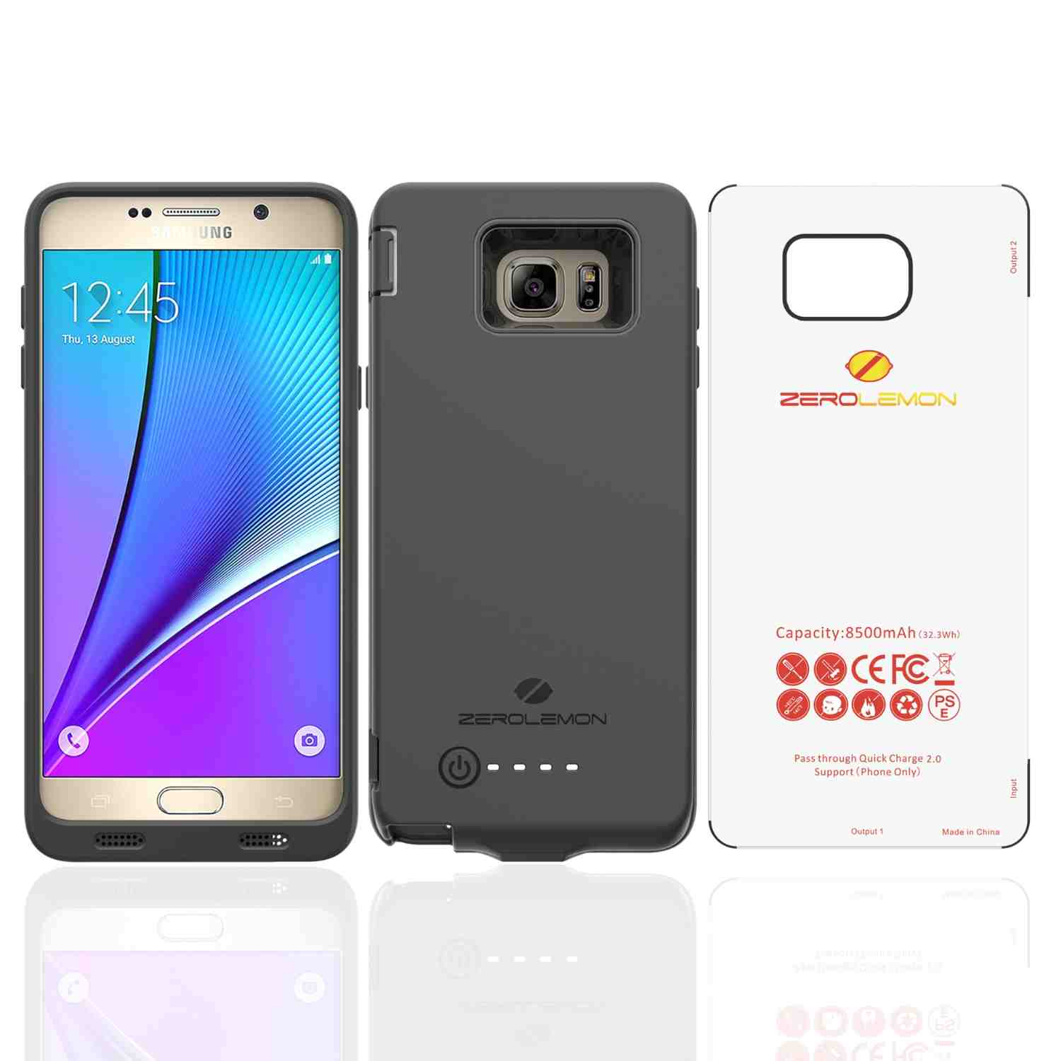 info for 06101 6fc2d ZeroLemon releases 8500mAh cases for Galaxy Note 5, Galaxy S6 Edge+ ...