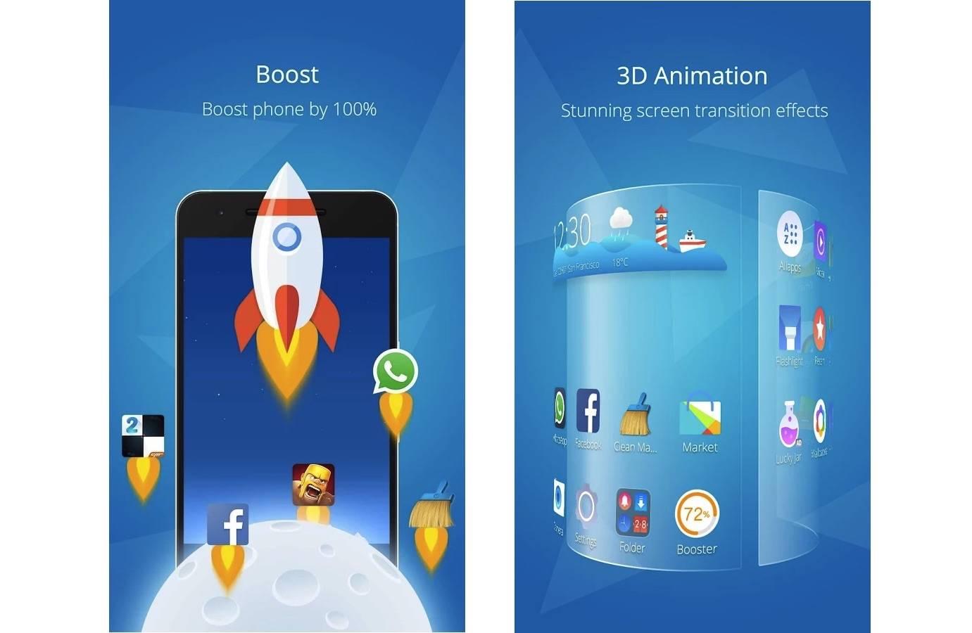 Cheetah Mobile updates CM Launcher with 3D elements