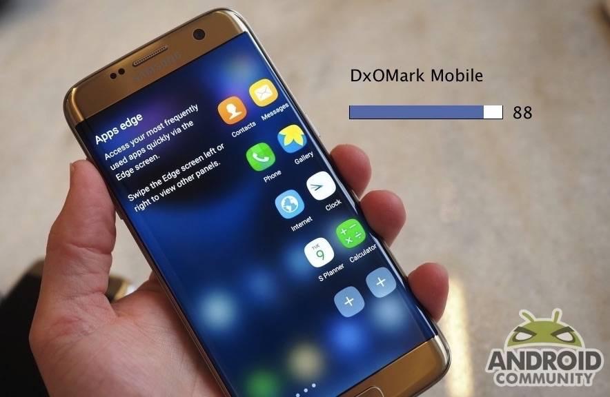 Samsung Galaxy S7 edge dxomark