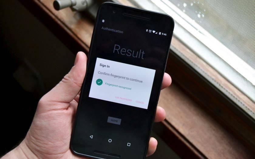 DroidID lets you unlock your Mac with a fingerprint scan