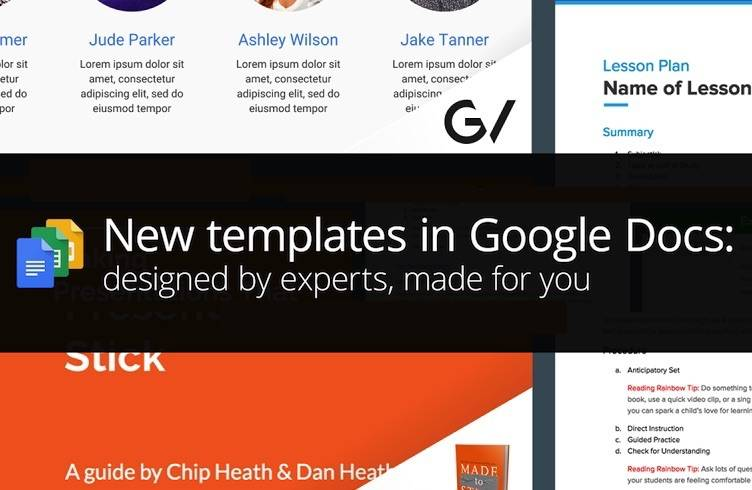 Templates For Google Docs | Industry Experts Designed Templates For Google Docs Slides And