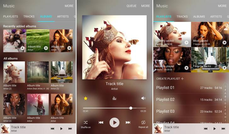 Samsung Music app (beta) now on Google Play Store - Android