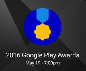2016 Google Play Awards