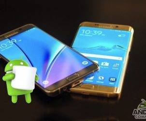 Android 6.0 Marshmallow Samsung Galaxy Note 5 Galaxy S6 edge plus Verizon